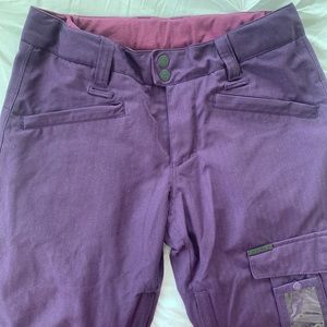 Purple Empyre snowboarding pants